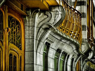 Arts et sciences au 19i me si cle - Art nouveau architecture de barcelone revisitee ...