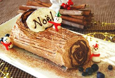 Decoration Noel Buche Et Feu