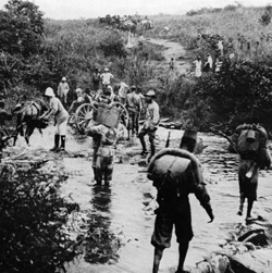 Congo belge campagne 1918