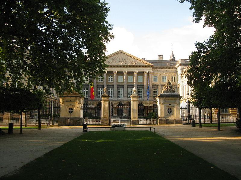 Palais de la Nation a Bruxelles