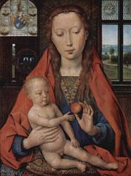 15e-siecle-peinture-Memling vierge
