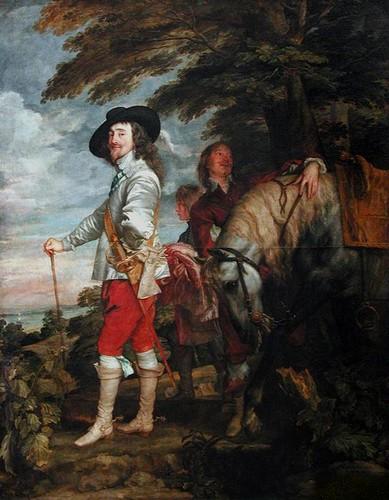 17e siecle-peinture-van dijck-CHARLES-PREMIER