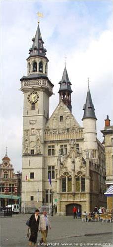 moyen-age-architecture-goth-scaldien-hotel-de-ville-alost