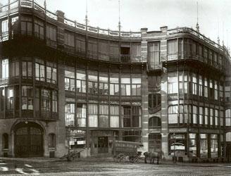 architecture-art-nouveau-Horta Victor Maison du Peuple Brussel 1895-99