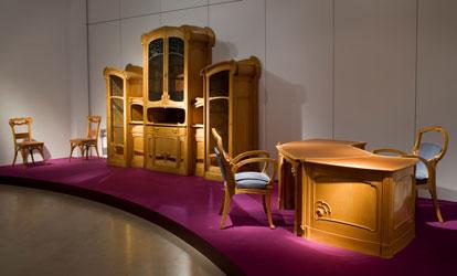 Arts et sciences au 19i me si cle - Art nouveau meuble ...