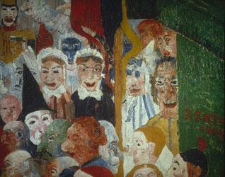 peinture-inclassable-ensor masques2