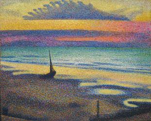 peinture-neoimpression-Georges-Lemmen-(1865-1916)-e