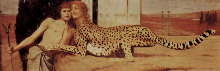 peinture-symbolisme-fernand khnopff 1