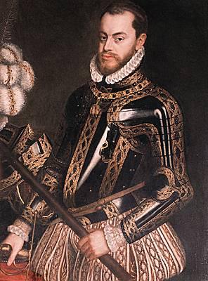 25.habsb-espagne-Philippe II dEspagne